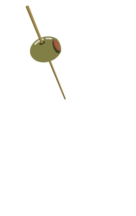 martini olives clipart olive on a toothpick clip art download