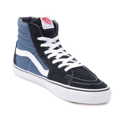 vans shoes for vans sk8 hi skate shoe blue 498068
