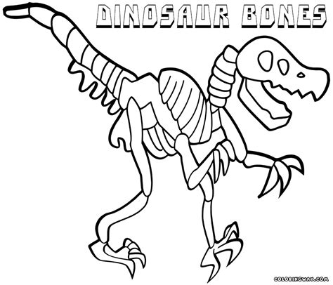 coloring pictures of bones dinosaur bones coloring pages coloring pages to