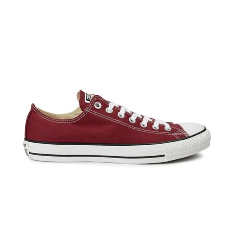 All Converse Low Maroon converse all ox canvas maroon 37 50 m9691c
