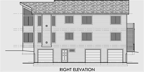 duplex house plans stacked duplex plans