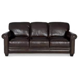 leather sofa with nailheads futura leather 7888 brown leather sofa with nailhead