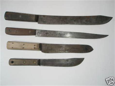 vintage kitchen knives 4 vintage antique carving kitchen butcher knife knives antique price guide details page