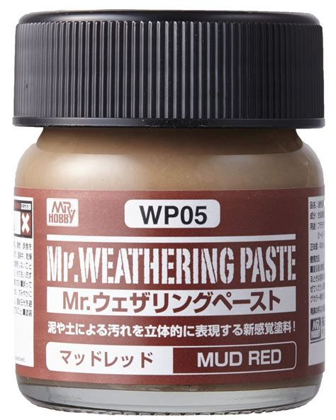 Mr Weathering Color Wc02 Ground Brown mr hobby mr weathering paste mud