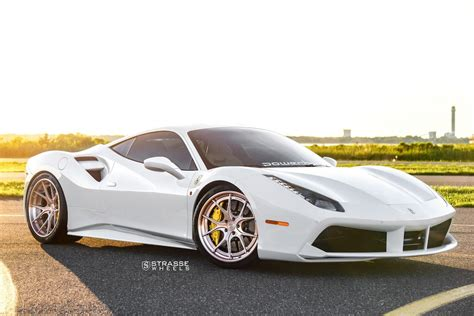 rose gold ferrari ferrariboost white ferrari 488 gtb on rose gold strasse