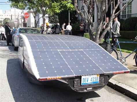 Tesla Solar Powered Car Driving A Solar Powered Family Car