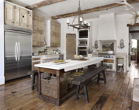 french kitchen country french loggias traditional home