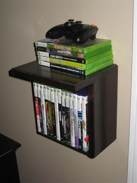 video game storage ideas i made 4 of these for video game and controller storage