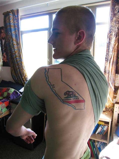 california flag tattoo 40 breathtaking state of california tattoos tattooblend