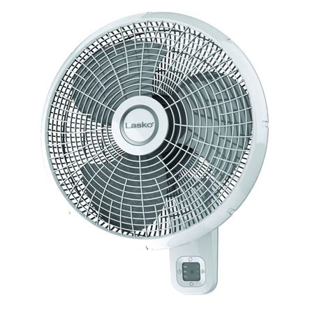 Lasko 16 In 3 Speed Oscillating Wall Mount Fan With