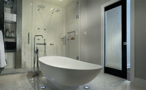 Glass Pocket Doors Bathroom How To Use Glass To Make A Splash And Enhance Your D 233 Cor