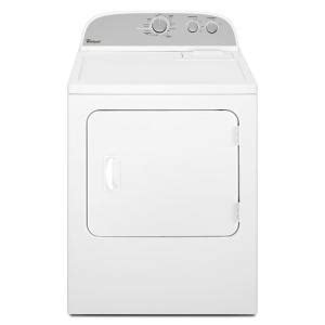 whirlpool 7 0 cu ft gas dryer in white wgd4800bq the