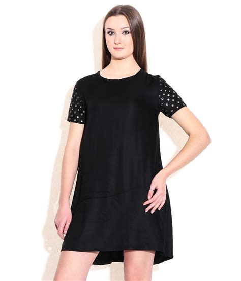 Express Black Rayon Dress buy chemistry black rayon dress at best prices in india snapdeal