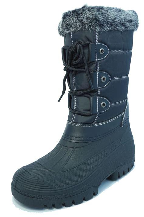 apres ski boots s womens stormwells waterproof winter thermal fur snow apres