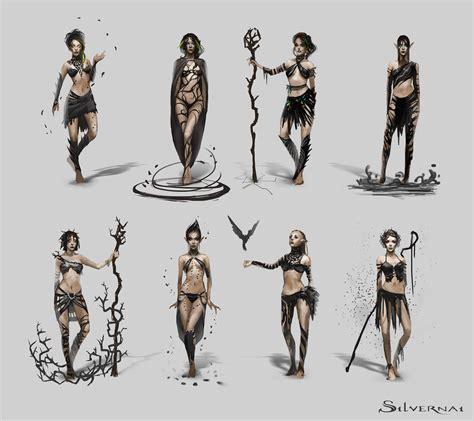 concept design vs illustration silvernai inari concept art 2 by telthona on deviantart