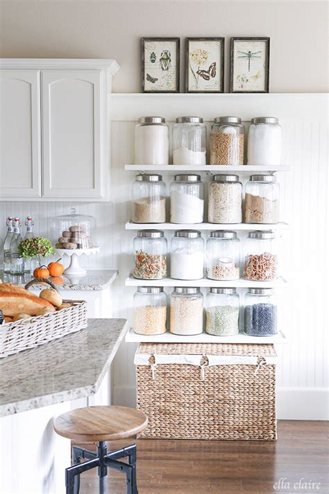 claire crisp diy small kitchen organizing ideas 5 tips for a gorgeous and organized pantry