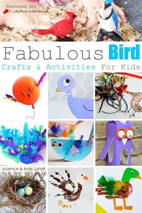 fabulous bird crafts activities for kids love to learn