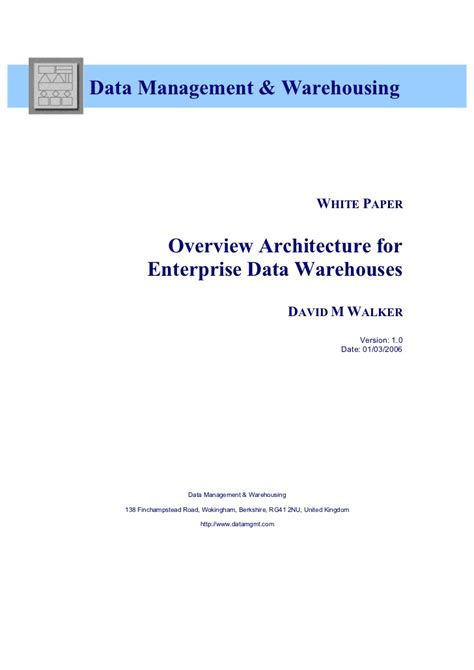 data warehouse research papers best sle research papers on architecture of data