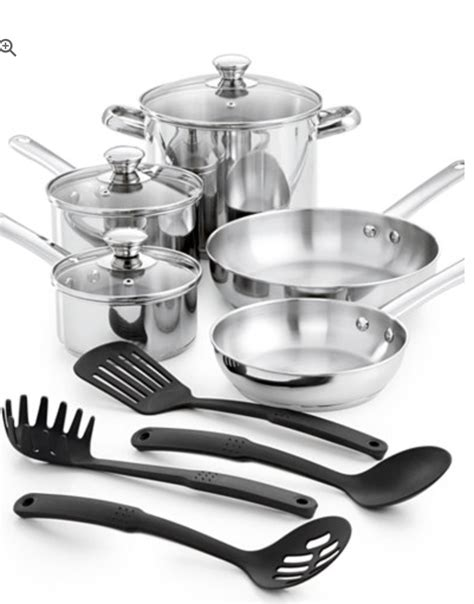 Promo Shinil 12 Pcs Cookware Set 12 stainless steel cookware set for 25 49 reg price 120
