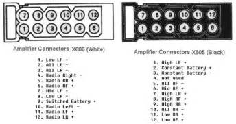 stereo amp wiring diagrams