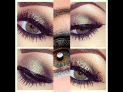 color avellana maquillaje para ojos color avellana