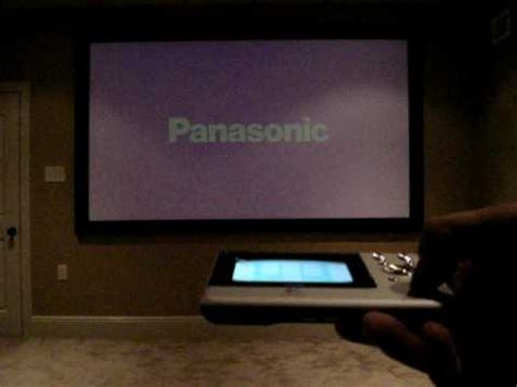 home theater remote demo  lighting control youtube