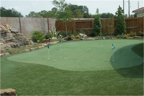 backyard putting green turf artificial turf for putting green support in image with