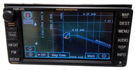 Toyota Navigation System Toyota Navigation Gps System Lcd Display Screen