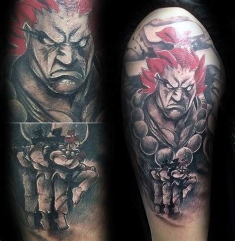 street fighter tattoo 40 fighter designs for ink