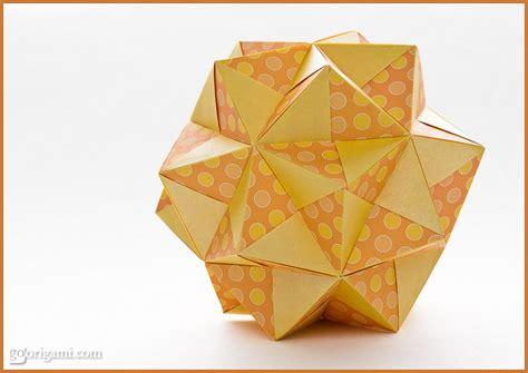 Origami Sonobe - sonobe variation by tomoko fuse modular origami go origami