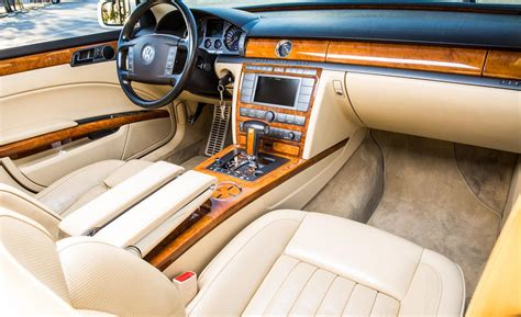 volkswagen phaeton interior car and driver