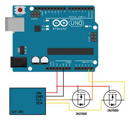 arduino tutorial mosfet dqsoft m 243 dulo gy 282 b 250 ssola triaxial ligando ao arduino