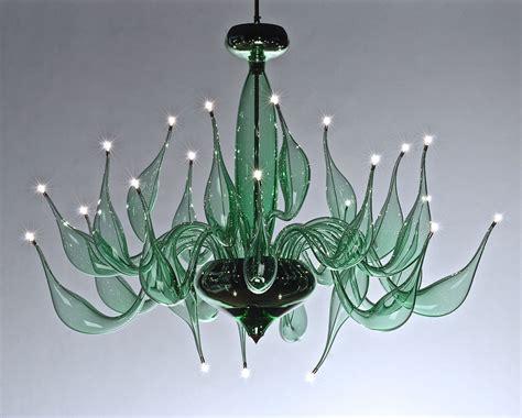 Green Chandelier Lu 8 For A Modern Interior Lighting Design Chandelier Green