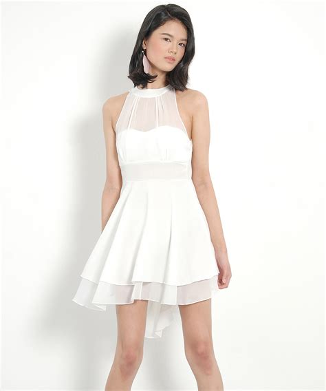 Marilyn Mini Dress marilyn halter mini white velvet vase