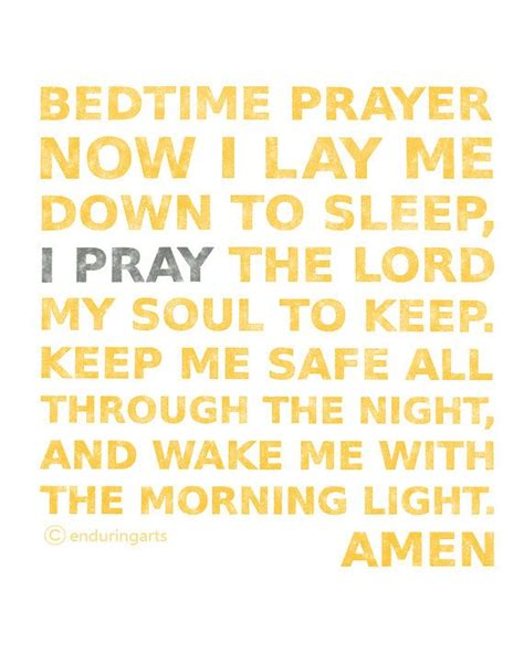 bed time prayer now i lay me down to sleep children s bedtime prayer in