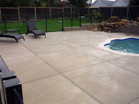 staining concrete patio and deck home ideas collection
