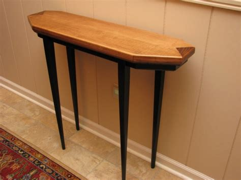 Thin Hallway Table Hallway Table Image Of Hallway Table Modern Aged Stained Teak Hallway Table With Single Shelf