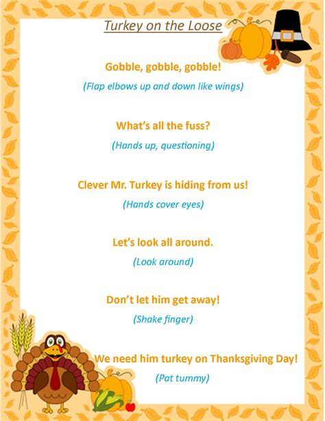 songs for dinner storytime theme thanksgiving time everyday i write the