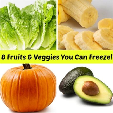 vegetables you can freeze 8 fruits vegetables you can freeze