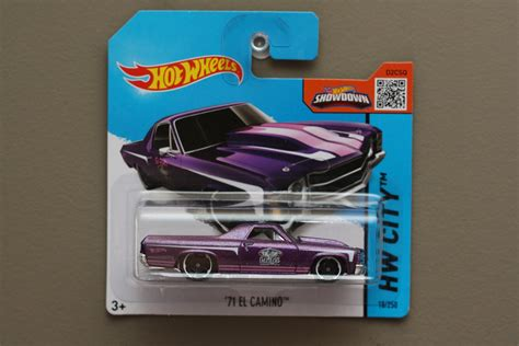 Hw 2015 018 Purple 71 El Camino wheels 2015 hw city 71 el camino purple