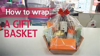 how to wrap presents how to wrap a gift basket youtube