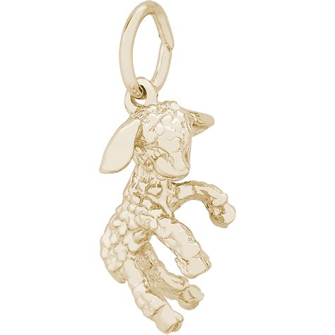 charm 10k gold 10 0358 bluedolphingold