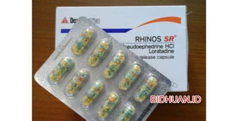 Obat Rhinos obat rhinos sr efek obat cara penggunaan harga dosis