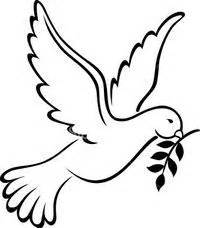 image detail for dove template mosiac works peace