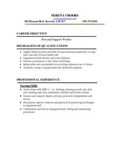 Skills For Resume Sle by Care And Support Worker Resume Sales Support Lewesmr