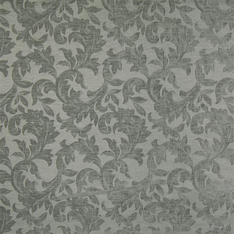 Blue And Gray Upholstery Fabric Slate Blue And Gray Floral Print Upholstery Fabric