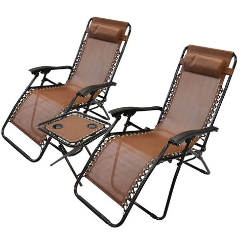 reclining sun chairs 3pc folding table reclining sun lounger chair textoline