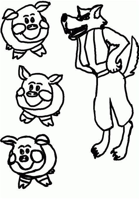 pigs coloring pages coloring home papers top 10 free printable three little pigs coloring
