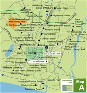 map of hamamatsu city and surrounding area hamamatsu