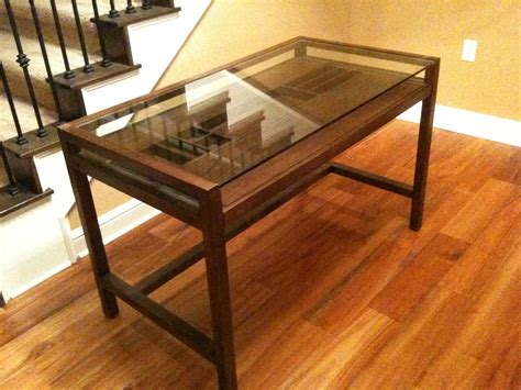 glass top desk with drawers glass top desk ikea glass top desk burton desk with glass